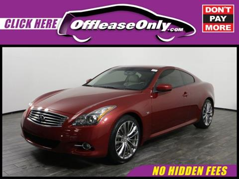 2014 Infiniti Q60 Coupe for sale in West Palm Beach, FL