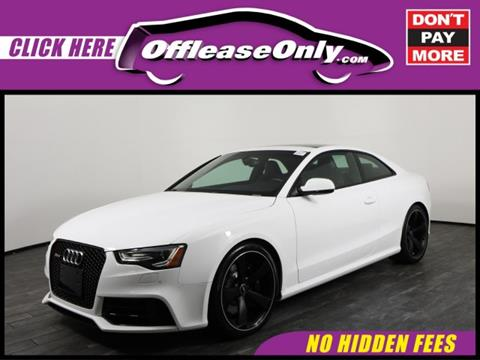 2015 Audi RS 5 for sale in West Palm Beach, FL