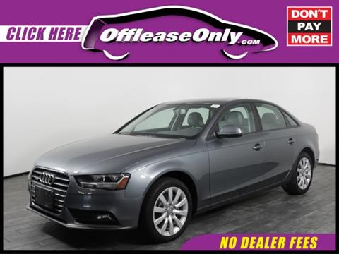 2014 Audi A4 for sale in West Palm Beach, FL
