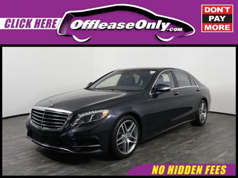 2015 Mercedes-Benz S-Class for sale in West Palm Beach, FL