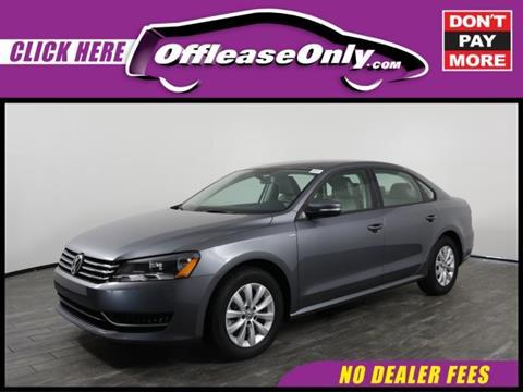 2014 Volkswagen Passat for sale in West Palm Beach, FL