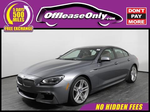 2015 BMW 6 Series for sale in West Palm Beach, FL