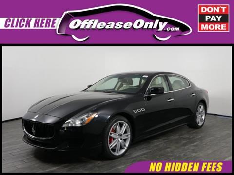 2014 Maserati Quattroporte for sale in West Palm Beach, FL