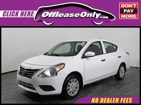 2016 Nissan Versa for sale in West Palm Beach, FL