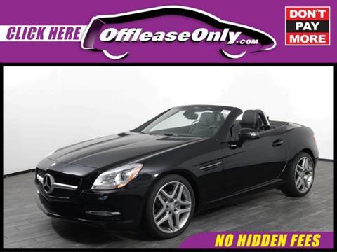 2015 Mercedes-Benz SLK for sale in West Palm Beach, FL