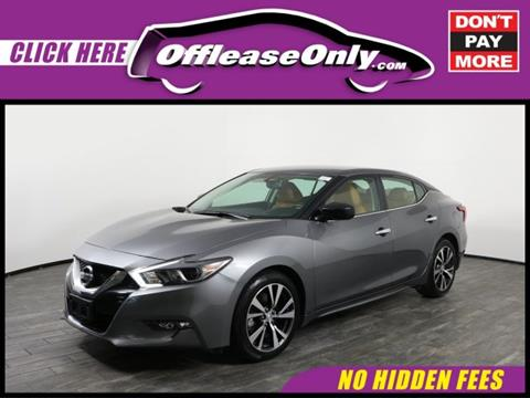 2016 Nissan Maxima for sale in West Palm Beach, FL