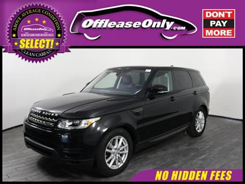 2017 Land Rover Range Rover Sport for sale in West Palm Beach, FL