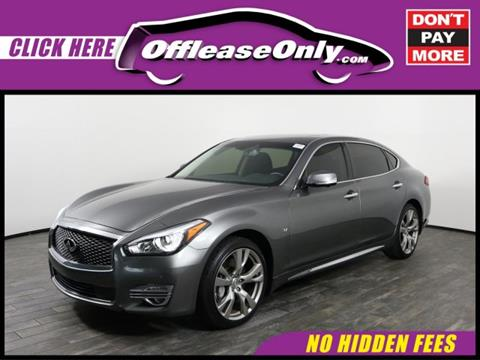 2016 Infiniti Q70L for sale in West Palm Beach, FL