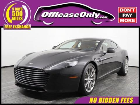 Aston Martin Rapide For Sale In West Palm Beach FL Carsforsalecom - Palm beach aston martin