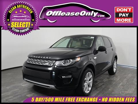 2015 Land Rover Discovery Sport for sale in West Palm Beach, FL
