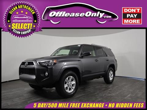 2017 Toyota 4Runner For Sale In West Palm Beach, FL