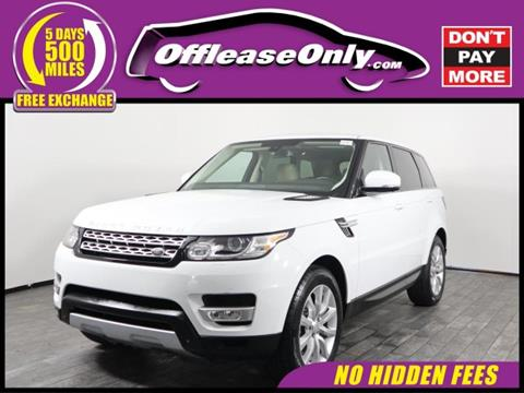 2015 Land Rover Range Rover Sport for sale in West Palm Beach, FL