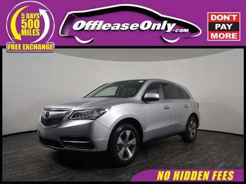 2015 Acura MDX for sale in West Palm Beach, FL
