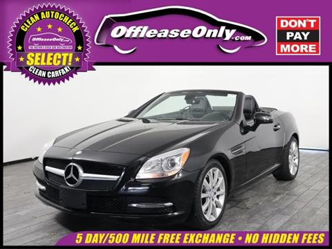 Delightful 2016 Mercedes Benz SLK For Sale In West Palm Beach, FL