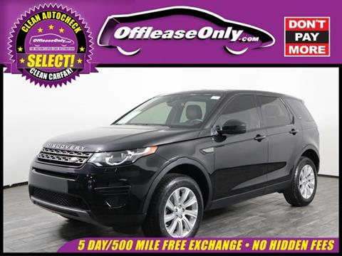 2016 Land Rover Discovery Sport for sale in West Palm Beach, FL