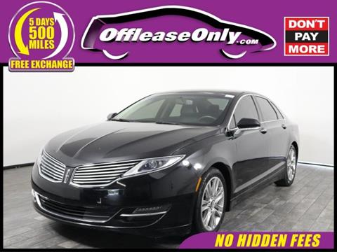 2016 Lincoln MKZ for sale in West Palm Beach, FL