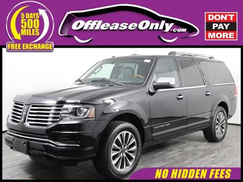 2016 Lincoln Navigator L for sale in West Palm Beach, FL
