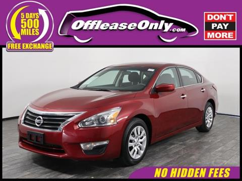 2015 Nissan Altima for sale in West Palm Beach, FL