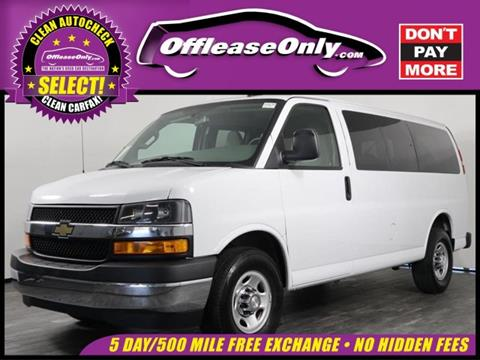 2018 Chevrolet Express Passenger for sale in West Palm Beach, FL