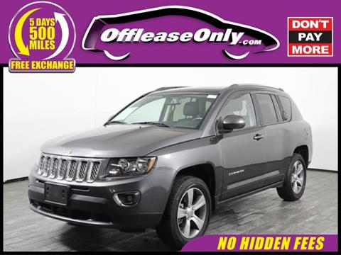2016 Jeep Compass for sale in West Palm Beach, FL