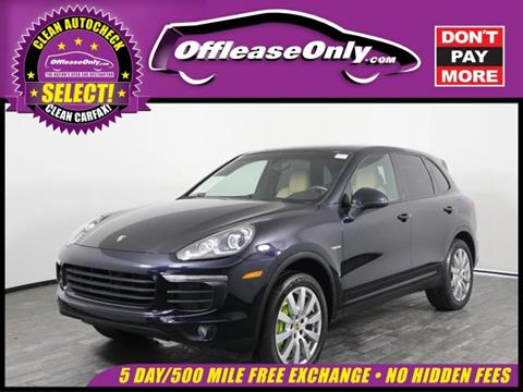 2016 Porsche Cayenne for sale in West Palm Beach, FL