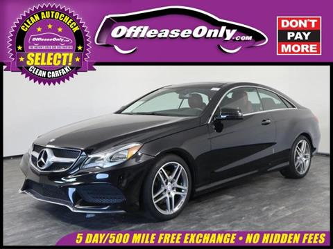 used mercedes-benz e-class for sale - carsforsale®