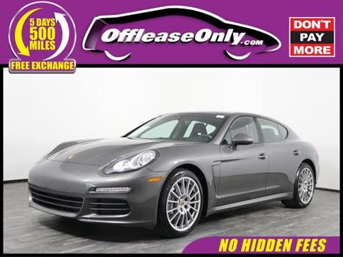 2016 Porsche Panamera for sale in West Palm Beach, FL