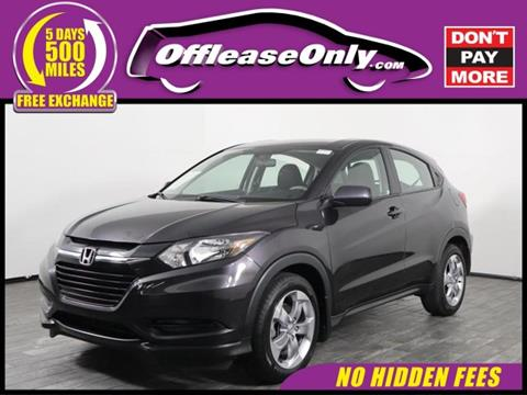2017 Honda HR-V for sale in West Palm Beach, FL