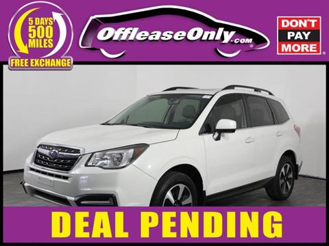 Used Cars West Palm Beach >> 2017 Subaru Forester For Sale In West Palm Beach Fl