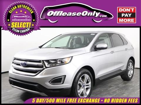 2018 Ford Edge for sale in West Palm Beach, FL