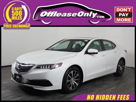 2016 Acura TLX for sale in West Palm Beach, FL