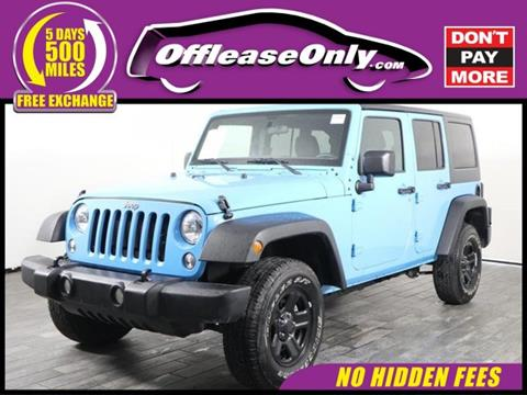 2017 Jeep Wrangler Unlimited for sale in West Palm Beach, FL