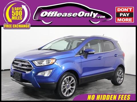 2018 Ford EcoSport for sale in West Palm Beach, FL