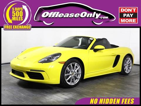 2017 Porsche 718 Boxster for sale in West Palm Beach, FL