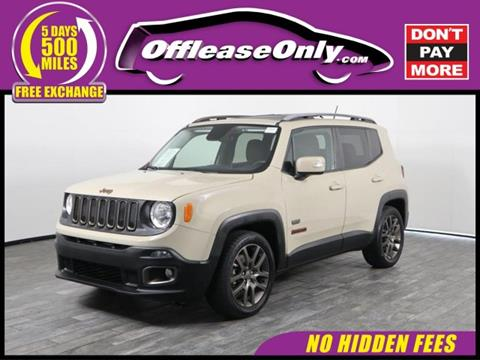 2016 Jeep Renegade for sale in West Palm Beach, FL
