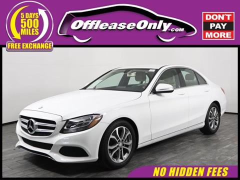 2015 Mercedes-Benz C-Class for sale in West Palm Beach, FL