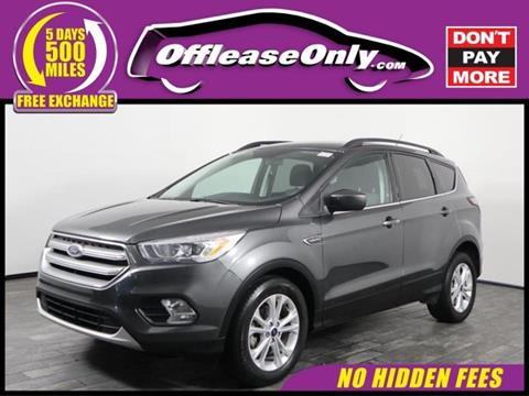 Ford West Palm Beach >> 2017 Ford Escape For Sale In West Palm Beach Fl