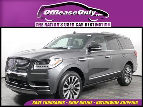2018 Lincoln Navigator for sale in West Palm Beach, FL