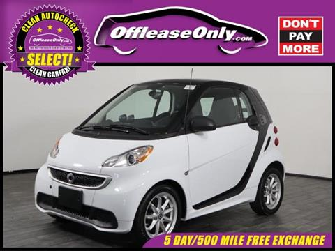 2016 Smart fortwo electric drive for sale in West Palm Beach, FL