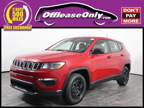 2017 Jeep Compass for sale in West Palm Beach, FL