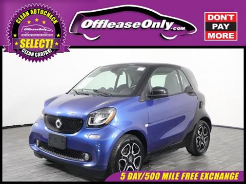 2017 Smart fortwo electric drive for sale in West Palm Beach, FL