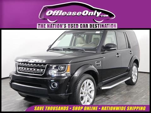 2016 Land Rover LR4 for sale in West Palm Beach, FL