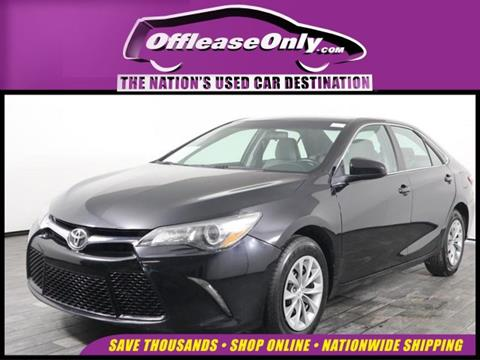 Toyota Camry Used >> 2016 Toyota Camry For Sale In West Palm Beach Fl