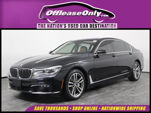 2016 BMW 7 Series for sale in West Palm Beach, FL