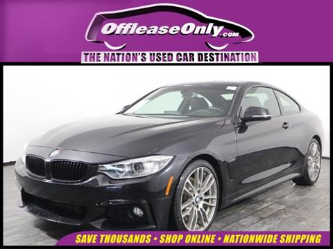 2016 BMW 4 Series for sale in West Palm Beach, FL