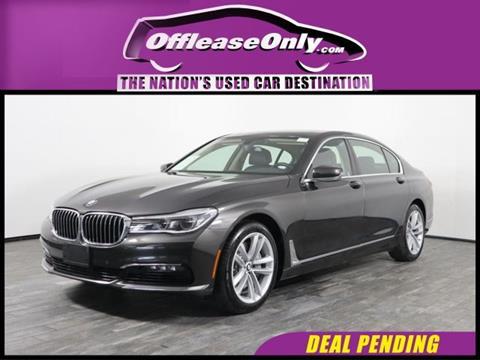 2016 BMW 7 Series for sale in West Palm Beach, FL
