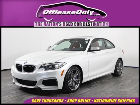 2016 BMW 2 Series for sale in West Palm Beach, FL