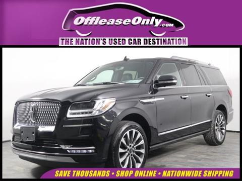 2019 Lincoln Navigator L for sale in West Palm Beach, FL