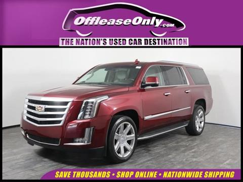 2016 Cadillac Escalade ESV for sale in West Palm Beach, FL