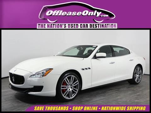 2016 Maserati Quattroporte for sale in West Palm Beach, FL